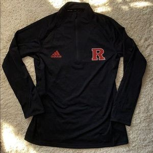 Adidas Half Zip Athletic Pullover